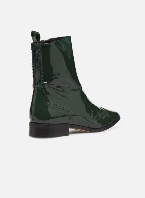 Bottines et boots Made by SARENZA Retro Dandy Boots #6 Vert vue face