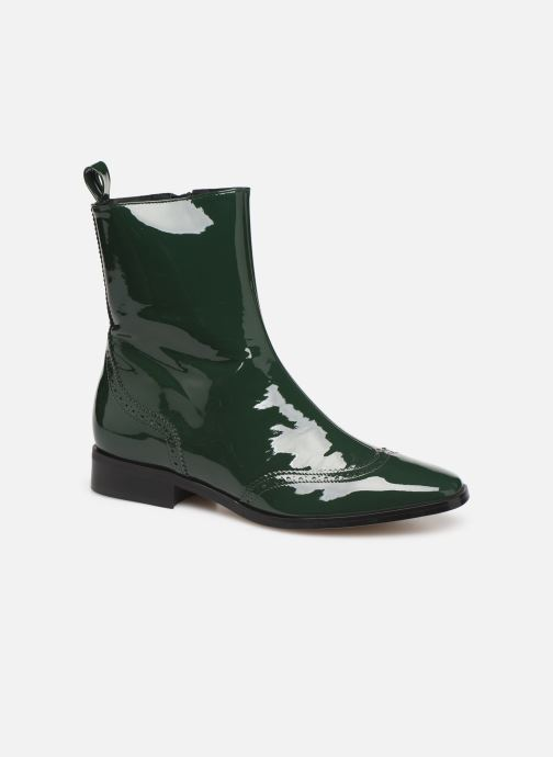 Ankle boots Made by SARENZA Retro Dandy Boots #6 Green view from the right