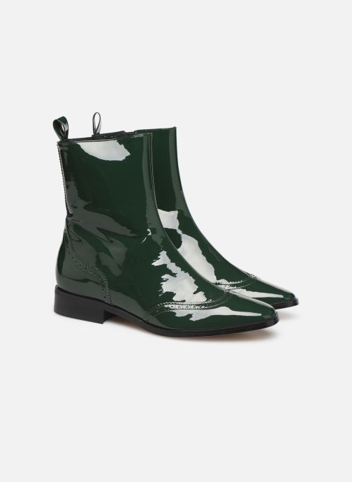 Ankelstøvler Made by SARENZA Retro Dandy Boots #6 Grøn se bagfra