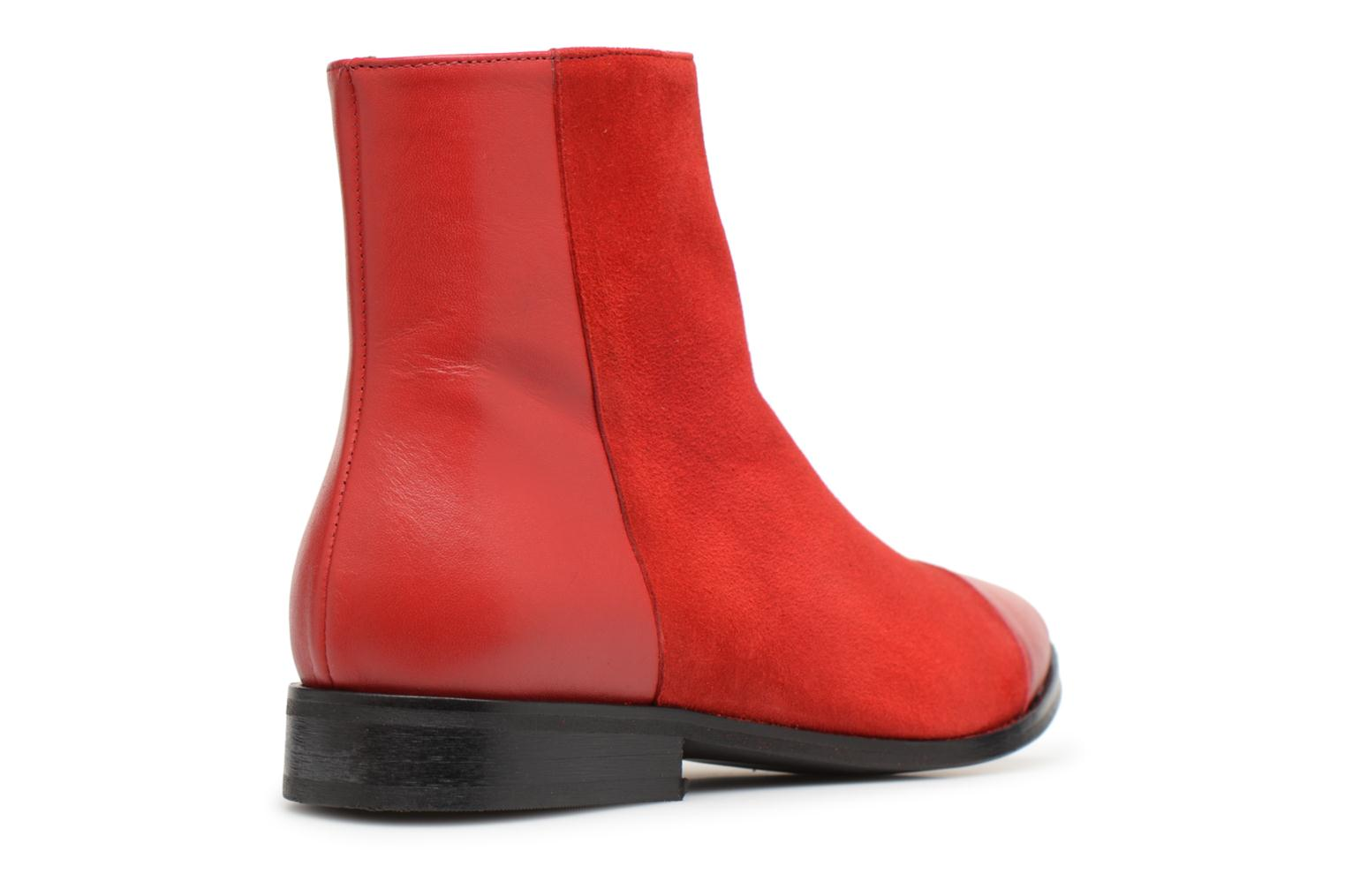 Velours By Rouge Bottines Made Plates 1 Toundra Girl Sarenza Et Cuir Lisse xO766Hw8qg