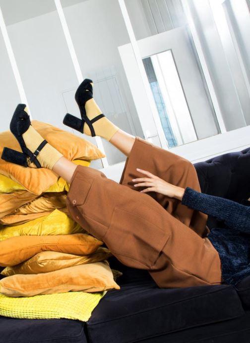 Sandales et nu-pieds Made by SARENZA Toundra Girl Sandales #1 Noir vue bas / vue portée sac