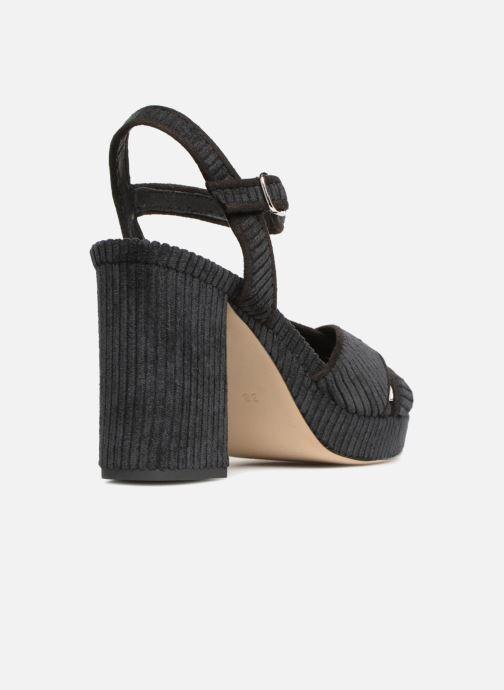 Sandales et nu-pieds Made by SARENZA Toundra Girl Sandales #1 Noir vue face