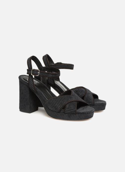 Sandales et nu-pieds Made by SARENZA Toundra Girl Sandales #1 Noir vue derrière