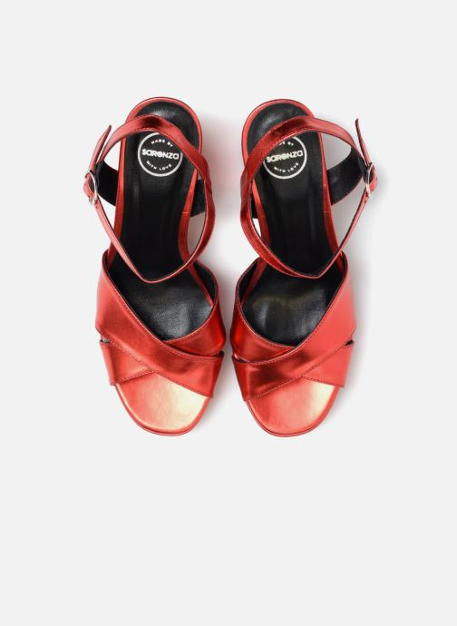 Sandalias Made by SARENZA Toundra Girl Sandales #1 Rojo vista del modelo