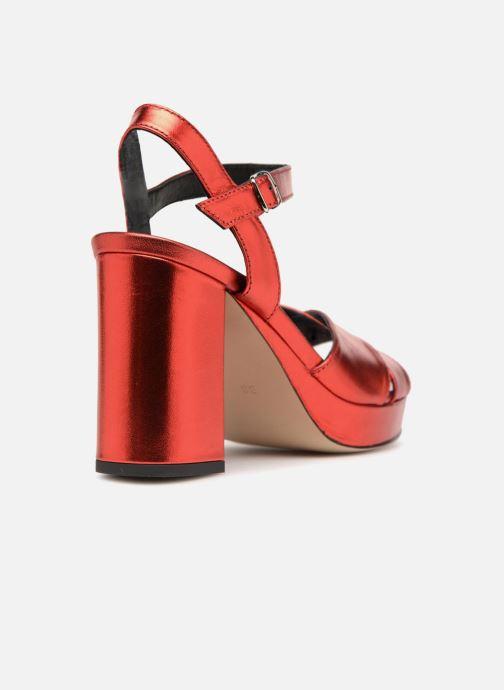 Sandales et nu-pieds Made by SARENZA Toundra Girl Sandales #1 Rouge vue face
