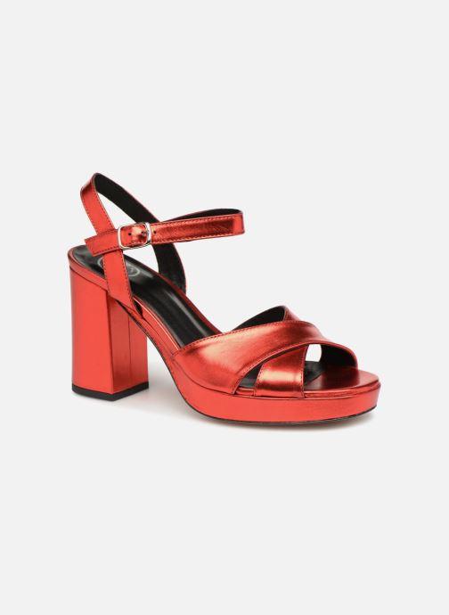 Sandalias Made by SARENZA Toundra Girl Sandales #1 Rojo vista lateral derecha