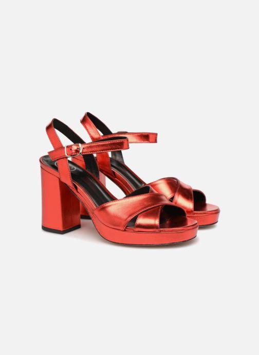 Sandalias Made by SARENZA Toundra Girl Sandales #1 Rojo vistra trasera