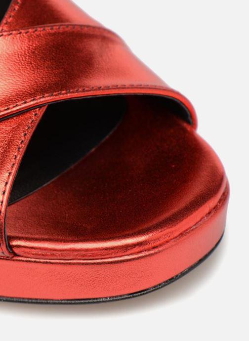 Sandalen Made by SARENZA Toundra Girl Sandales #1 rot ansicht von links