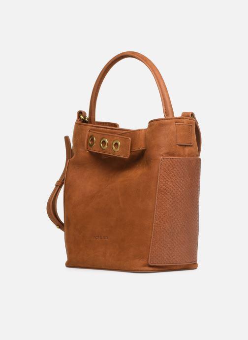 Handtaschen Nat & Nin Seventine braun schuhe getragen