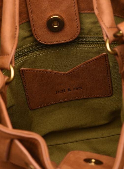 Handtaschen Nat & Nin Seventine braun ansicht von hinten