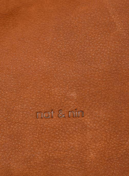 Handtaschen Nat & Nin Seventine braun ansicht von links