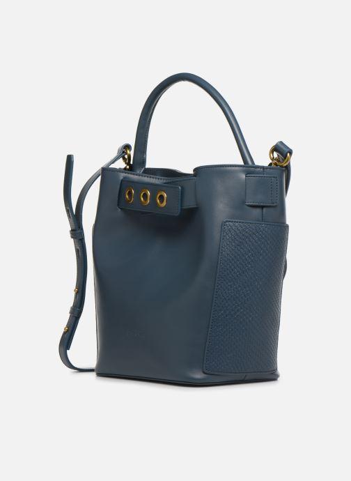 Handtaschen Nat & Nin Seventine blau schuhe getragen