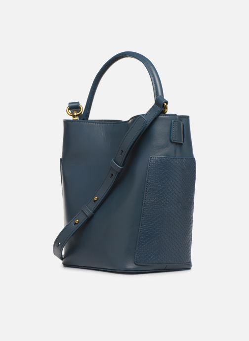Handtaschen Nat & Nin Seventine blau ansicht von rechts