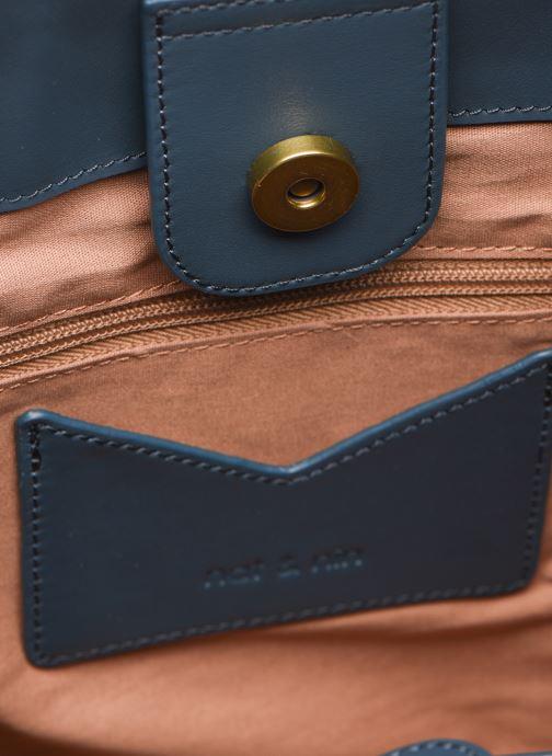 Handtassen Nat & Nin Seventine Blauw achterkant
