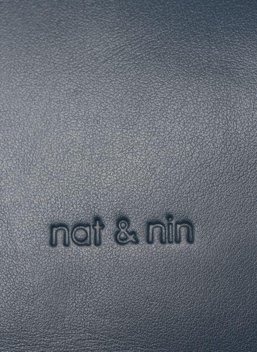Handtaschen Nat & Nin Seventine blau ansicht von links