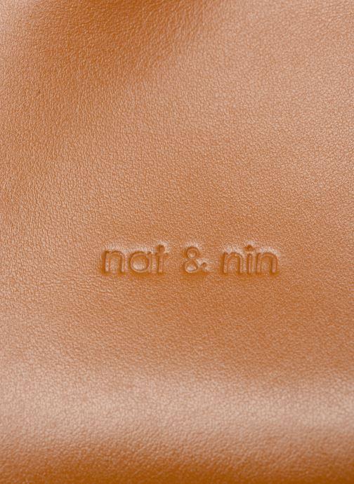 Sacs à main Nat & Nin Seventine Marron vue gauche