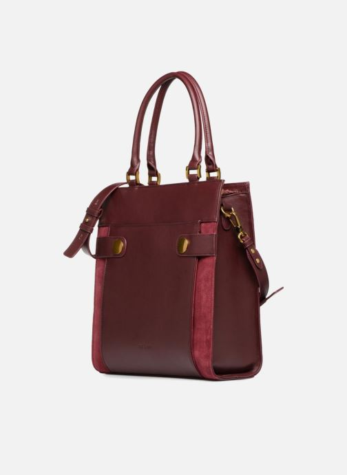 Handtaschen Nat & Nin Harleth weinrot schuhe getragen