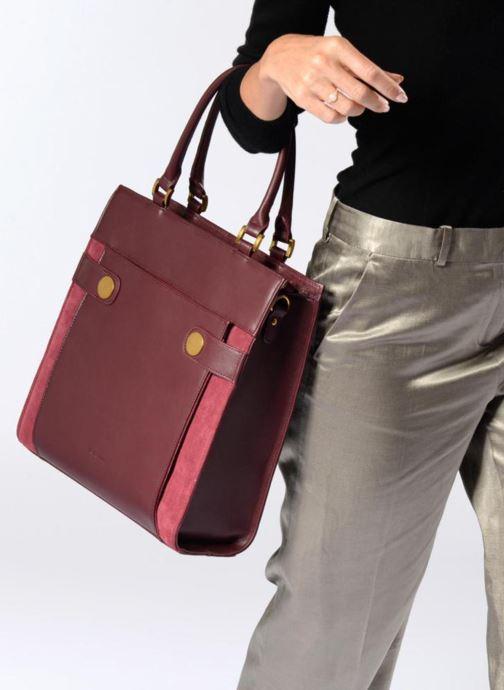 Handtaschen Nat & Nin Harleth weinrot ansicht von oben