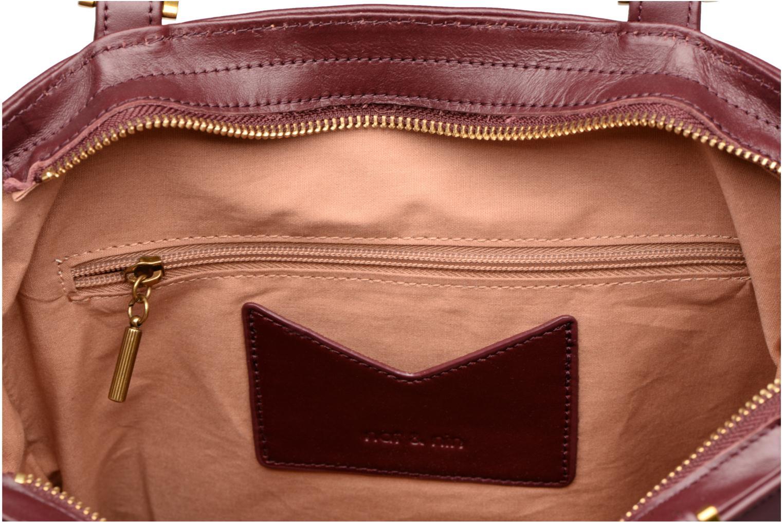 Handtaschen Nat & Nin Harleth weinrot ansicht von hinten