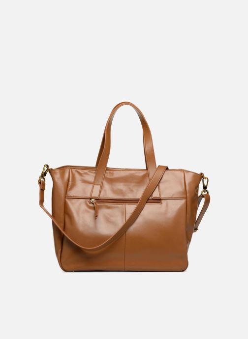 Handtaschen Nat & Nin Dolores braun ansicht von vorne