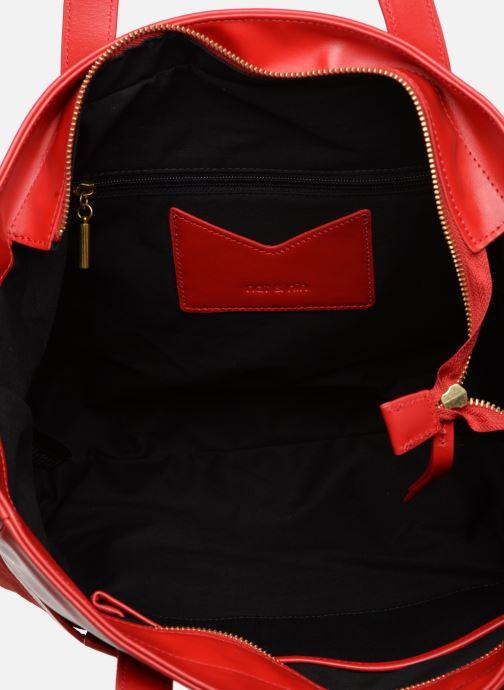 Handtaschen Nat & Nin Dolores rot ansicht von hinten