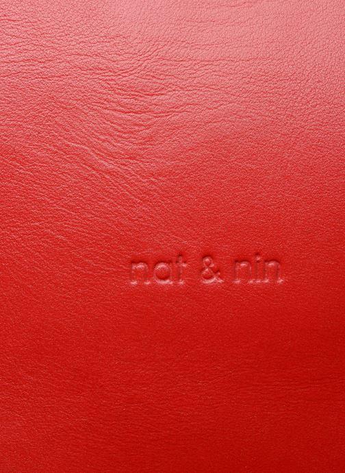Handtaschen Nat & Nin Dolores rot ansicht von links