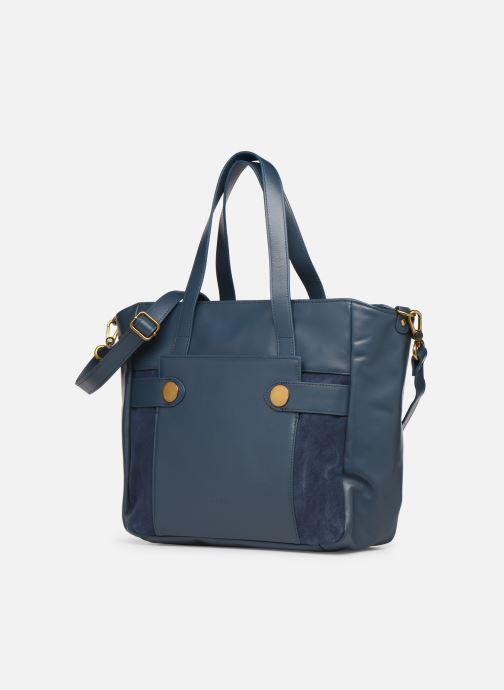 Handbags Nat & Nin Dolores Blue model view