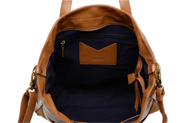 Handtaschen Nat & Nin Dolores braun ansicht von hinten