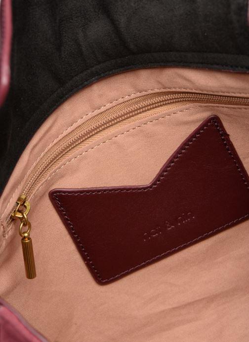 Handtaschen Nat & Nin Michelle weinrot ansicht von hinten