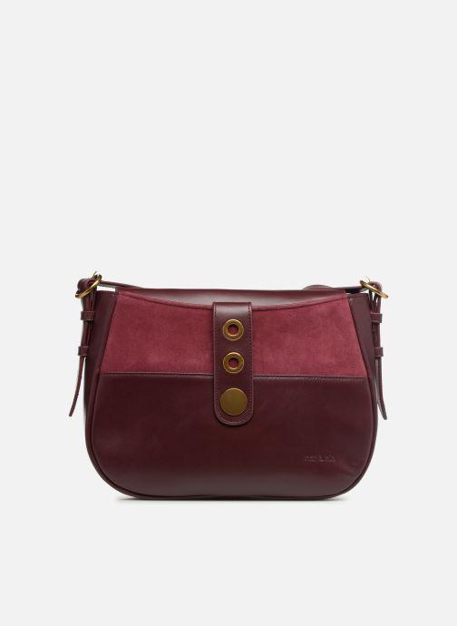 Handtassen Nat & Nin Michelle Bordeaux detail