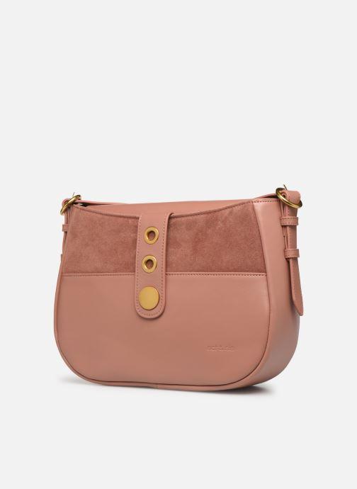 Handtaschen Nat & Nin Michelle rosa schuhe getragen