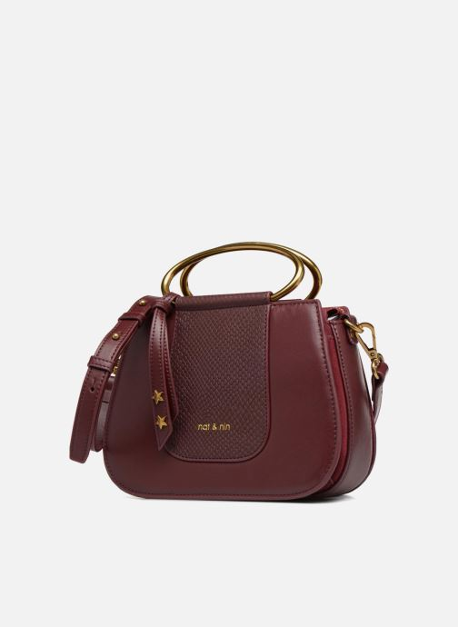 Handbags Nat & Nin Nancy Burgundy model view