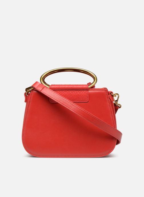Handtaschen Nat & Nin Nancy rot ansicht von vorne