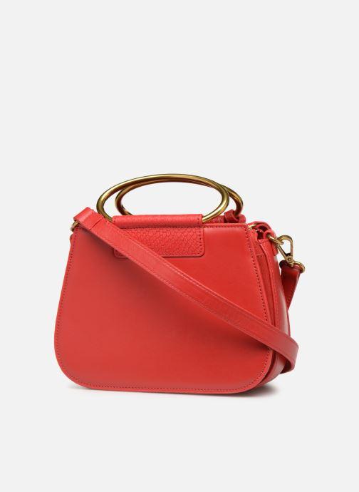 Handtaschen Nat & Nin Nancy rot ansicht von rechts
