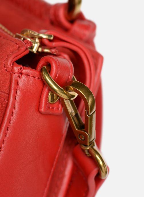 Handtaschen Nat & Nin Nancy rot ansicht von links
