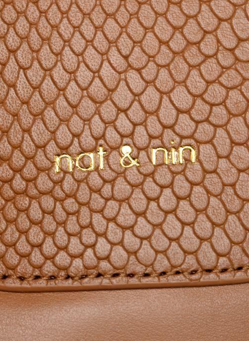 Handtaschen Nat & Nin Nancy braun ansicht von links
