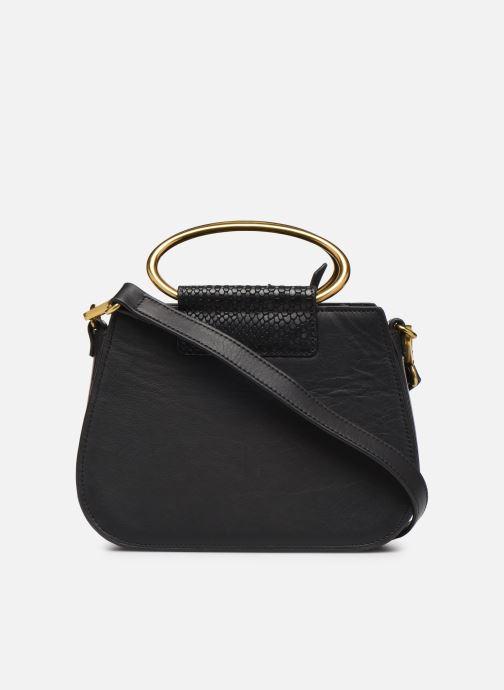Handtaschen Nat & Nin Nancy schwarz ansicht von vorne