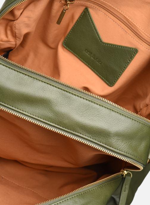 Handtassen Nat & Nin Camille Groen achterkant