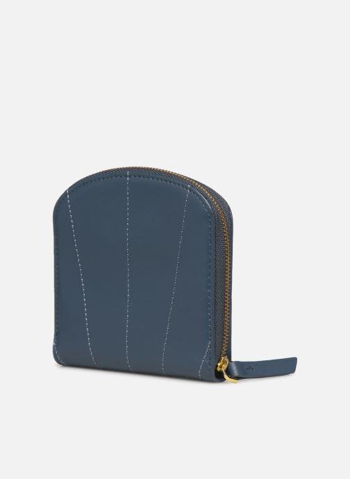 Portemonnaies & Clutches Nat & Nin Coco blau ansicht von rechts