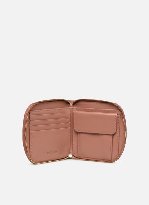 Kleine lederwaren Nat & Nin Coco Roze achterkant