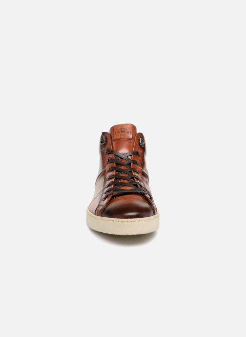 Baskets Giorgio1958 GIANNI Gris vue portées chaussures