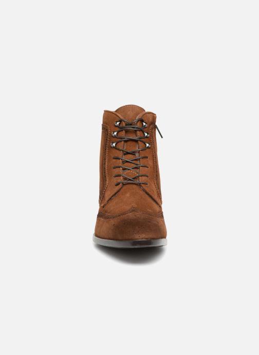 Bottines et boots Giorgio1958 GIULIO Marron vue portées chaussures
