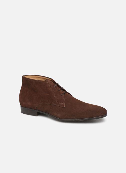 Boots en enkellaarsjes Giorgio1958 GUIDO Bruin detail