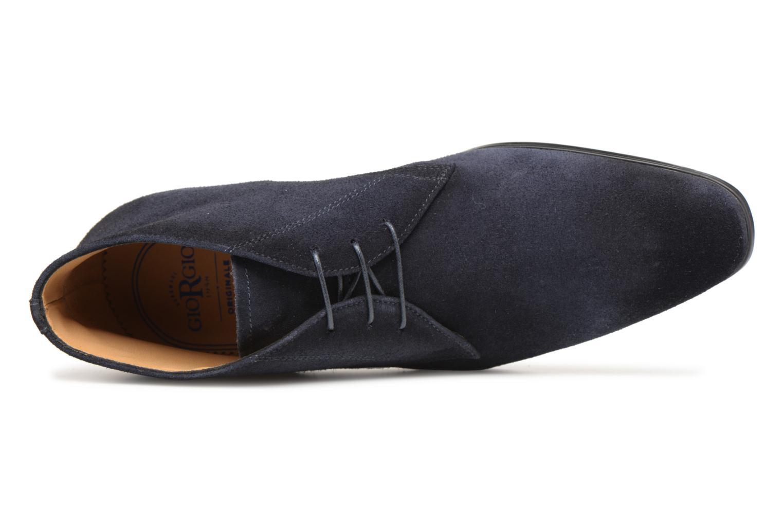 Bottines et boots Giorgio1958 GUIDO Bleu vue gauche