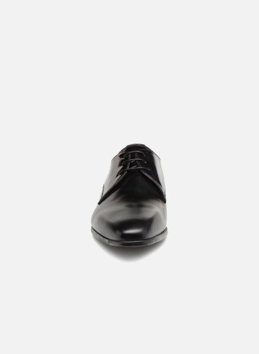 Schnürschuhe Giorgio1958 GILBERTO schwarz schuhe getragen