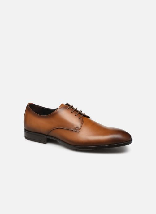Lace-up shoes Giorgio1958 GILDO Brown detailed view/ Pair view