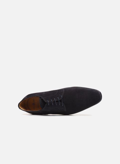 Zapatos con cordones Giorgio1958 GILDO Azul vista lateral izquierda