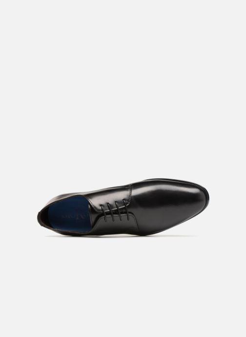 Zapatos con cordones Giorgio1958 GENARO Negro vista lateral izquierda
