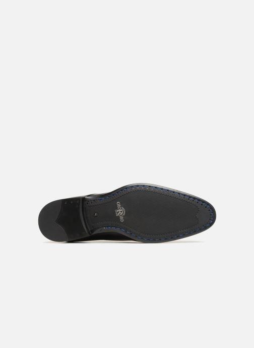 Chaussures à lacets Giorgio1958 GENARO Noir vue haut