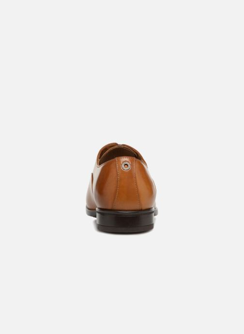 Chaussures à lacets Giorgio1958 GENARO Marron vue droite